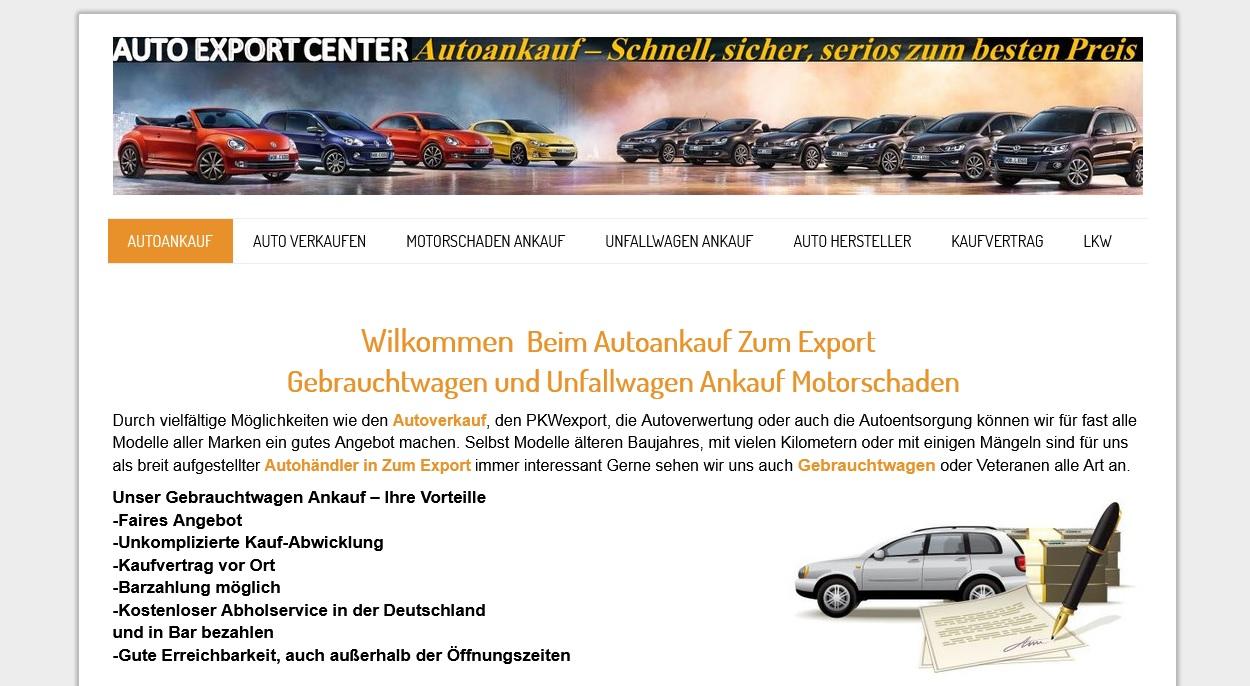 KFZ Ankauf: Deutschlandweit zu besten Preisen
