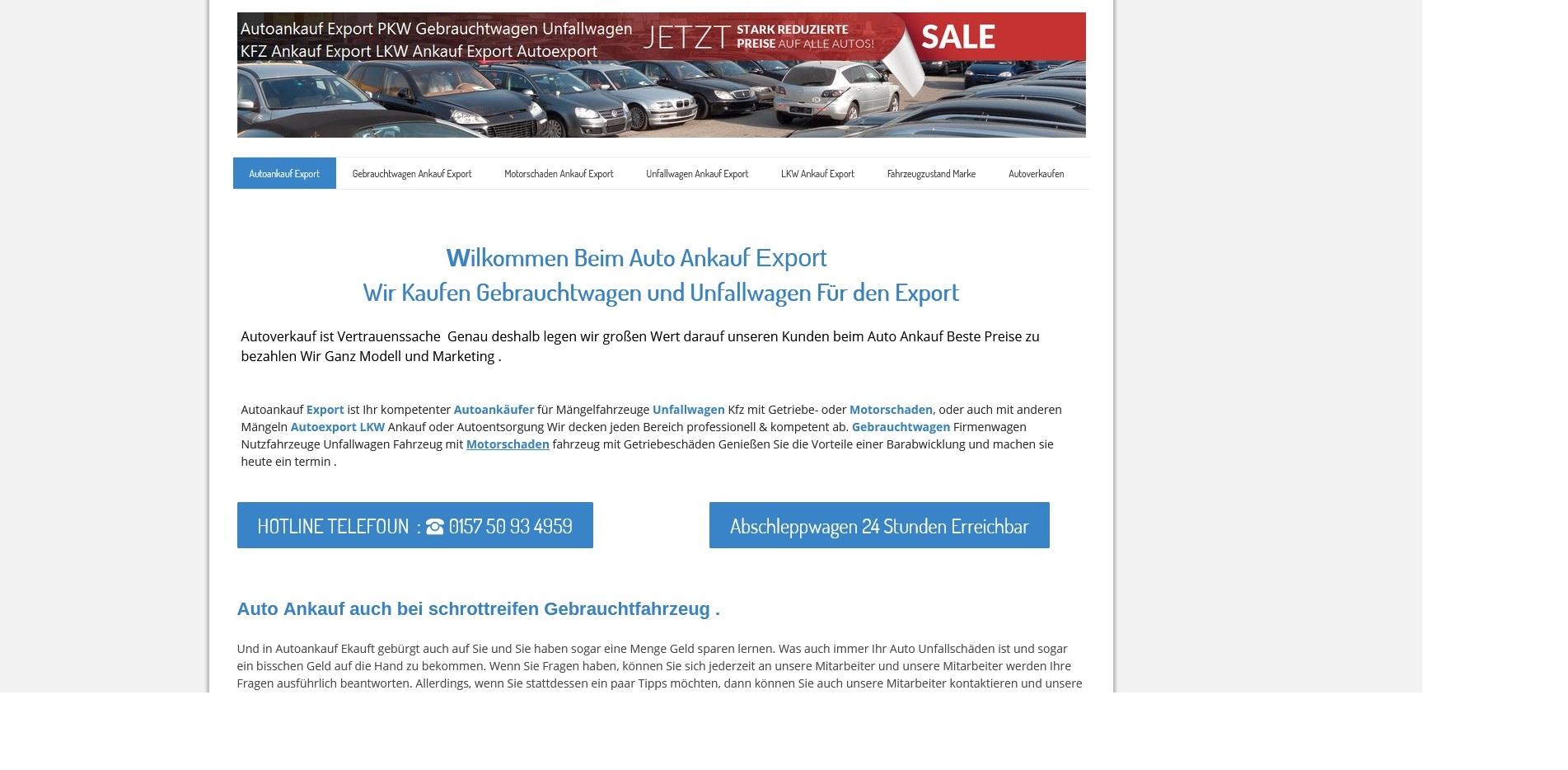 https://www.kfz-ankauf-export.de - Autoankauf Bad Kreuznach