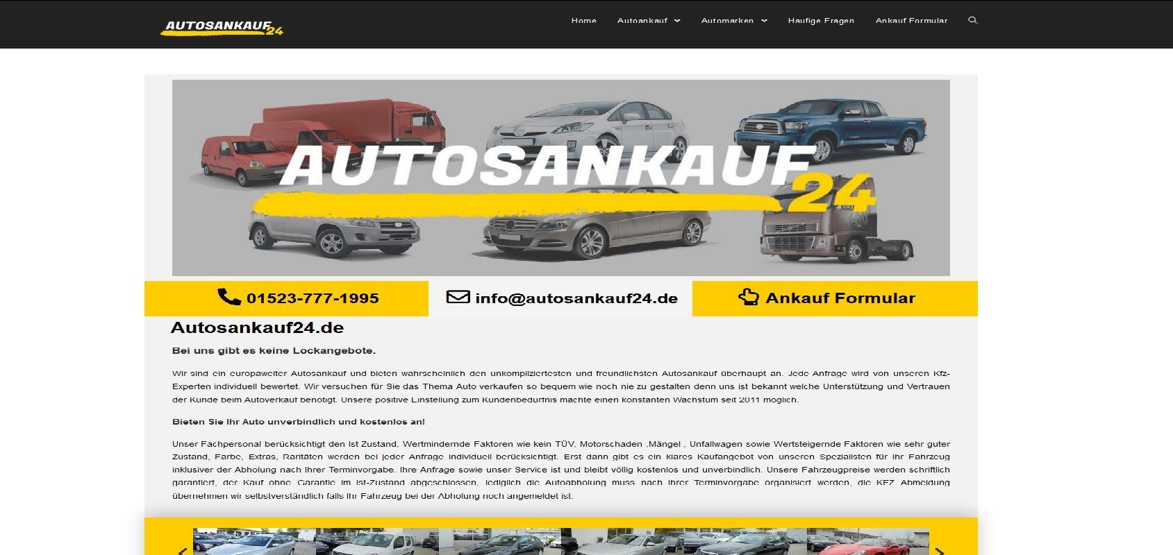 autosankauf24.de Autoankauf Münster