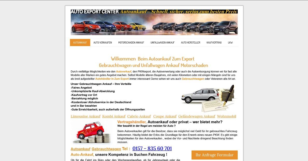 Kfz-Ankauf-Markt.de | Autoankauf Wilhelmshaven | Autoankauf Export Wilhelmshaven